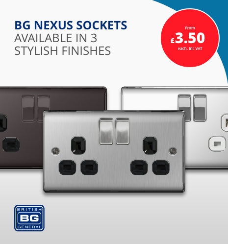 BG Nexus Sockets at Sunny Electricals