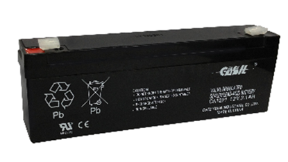 UL1221, 12v 2.1Ah Back Up Battery for Burglar Alarm