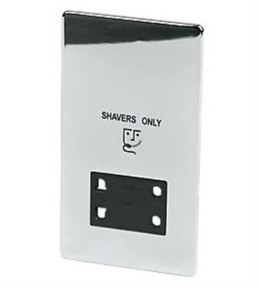 7411/HPC Polished Chrome Shaver Socket