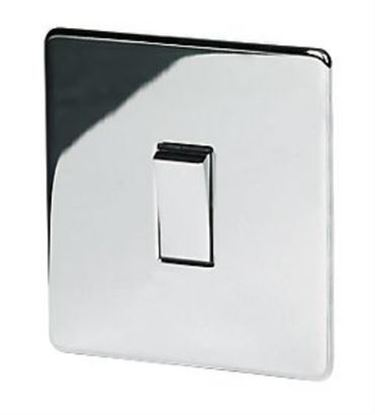 7170/HPC 1 Gang Polished Chrome Light Switch