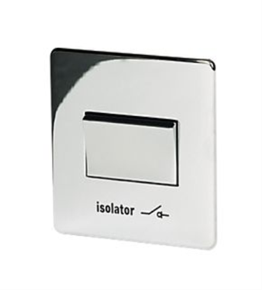 7017/HPC Polished Chrome Fan Isolator Switch