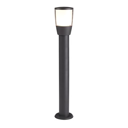 ALUMINIUM TUCSON 1 POST LIGHT, POLYCARBONATE SHADE 0598-900GY