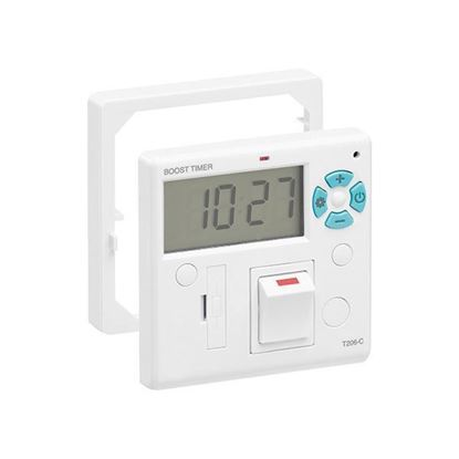 Fused spur Switch with countdown timer, T206-C