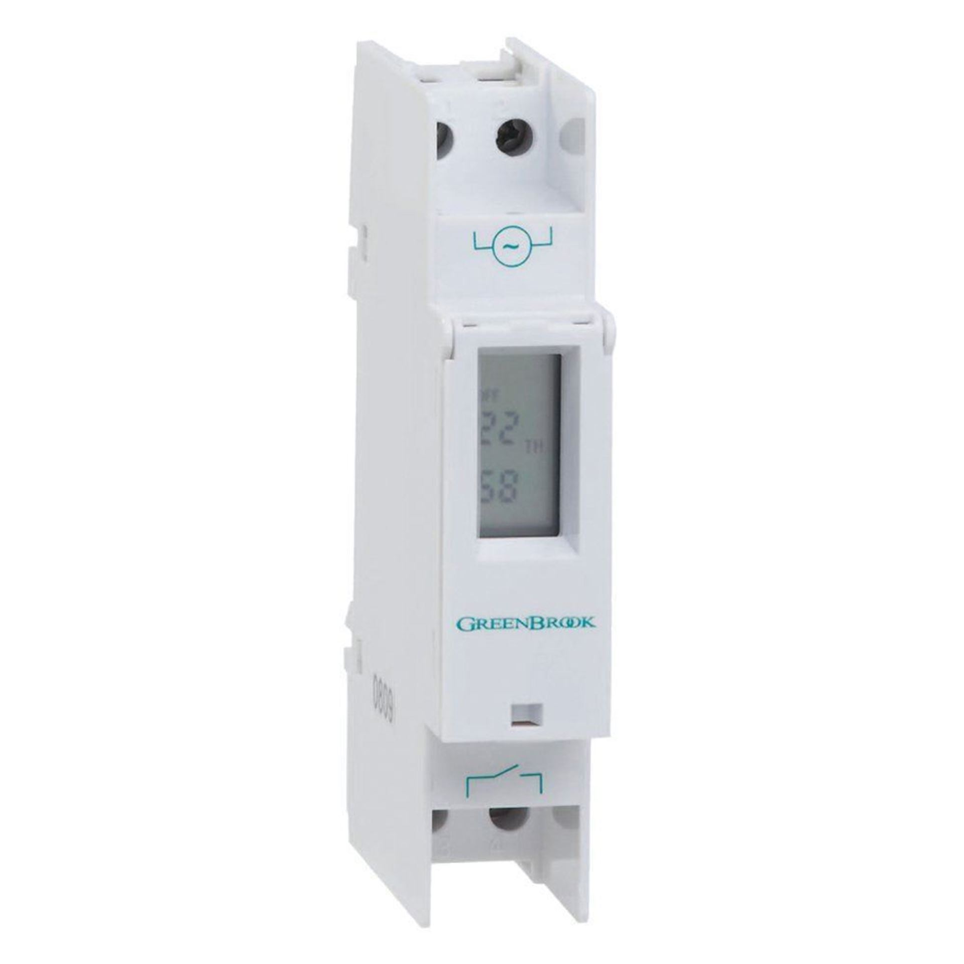 Greenbrook T80-C Programmable Din Rail Mounting Digital Time Switch