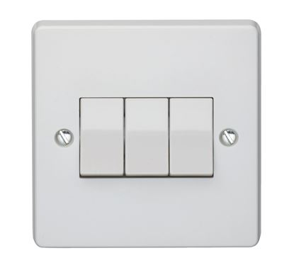 crabtree 4173 3 gang light switch
