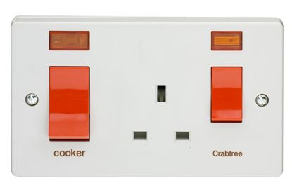 crabtree 4521/31 cooker socket