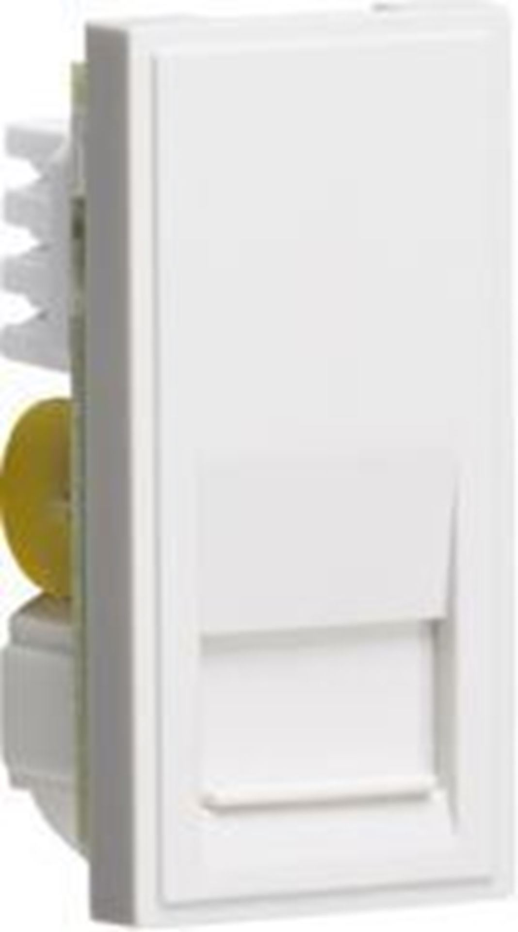 Telephone Secondary Outlet Module 25 x 50mm (IDC) - White NETBTSWH