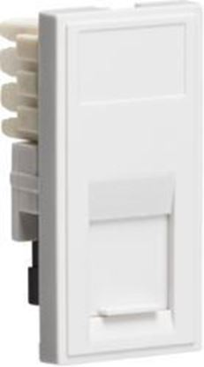 RJ11 Outlet Module 25 x 50mm (IDC) - White NETRJ11WH