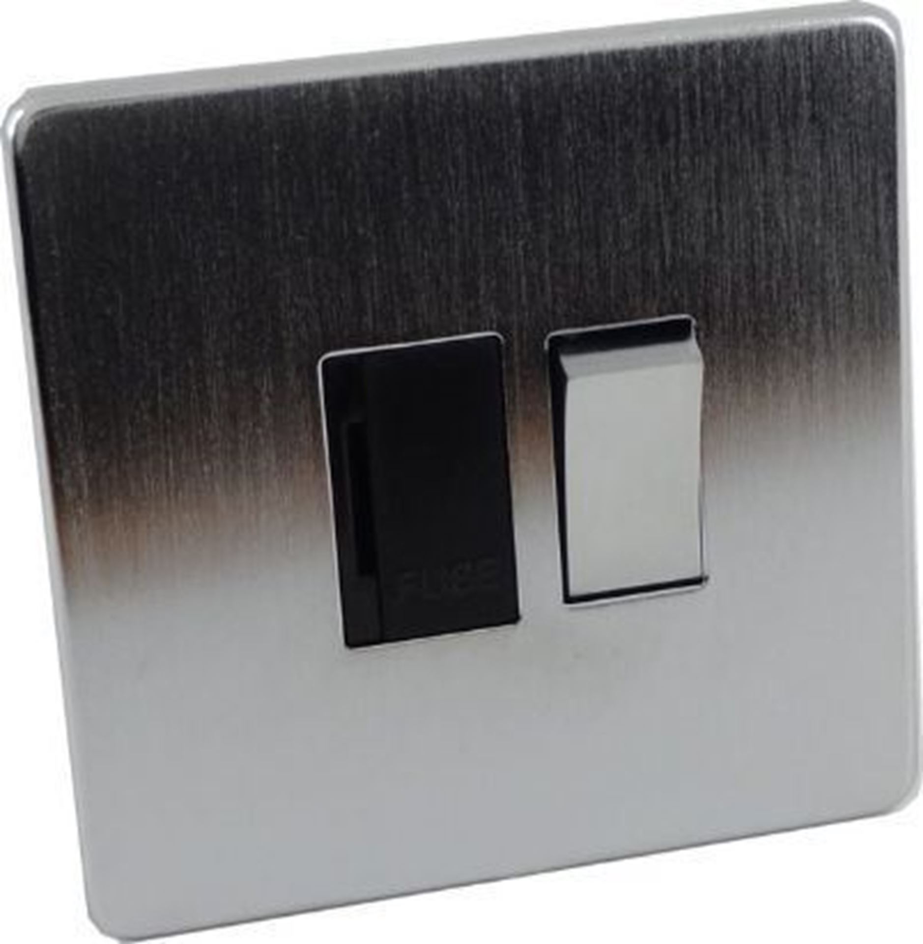Crabtree Platinum Satin Chrome 13A Switched Fuse Spur 7832/SC