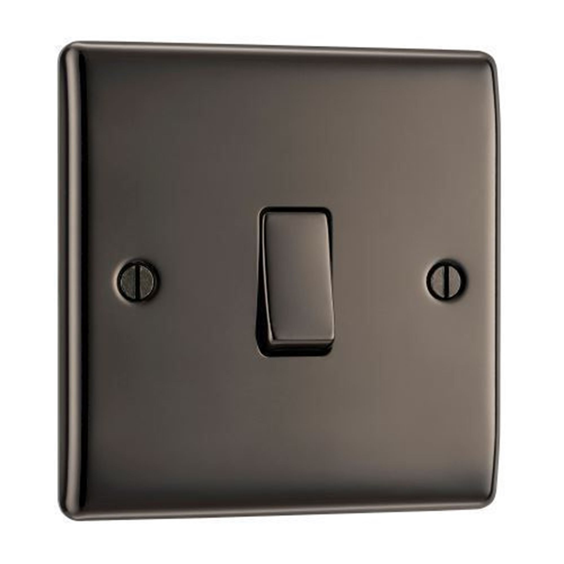 BG Nexus Metal Black Nickel Intermediate Switch NBN13