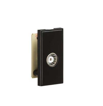 TV Outlet Module (PCB) - Black NETTVBK