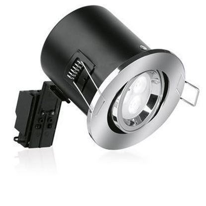 Aurora ENLITE White Tilt Fire Rated Downlight EN-FD102W