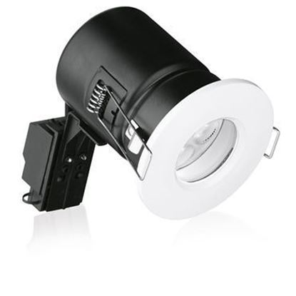 Aurora ENLITE White GU10 Shower Downlight EN-FD103W