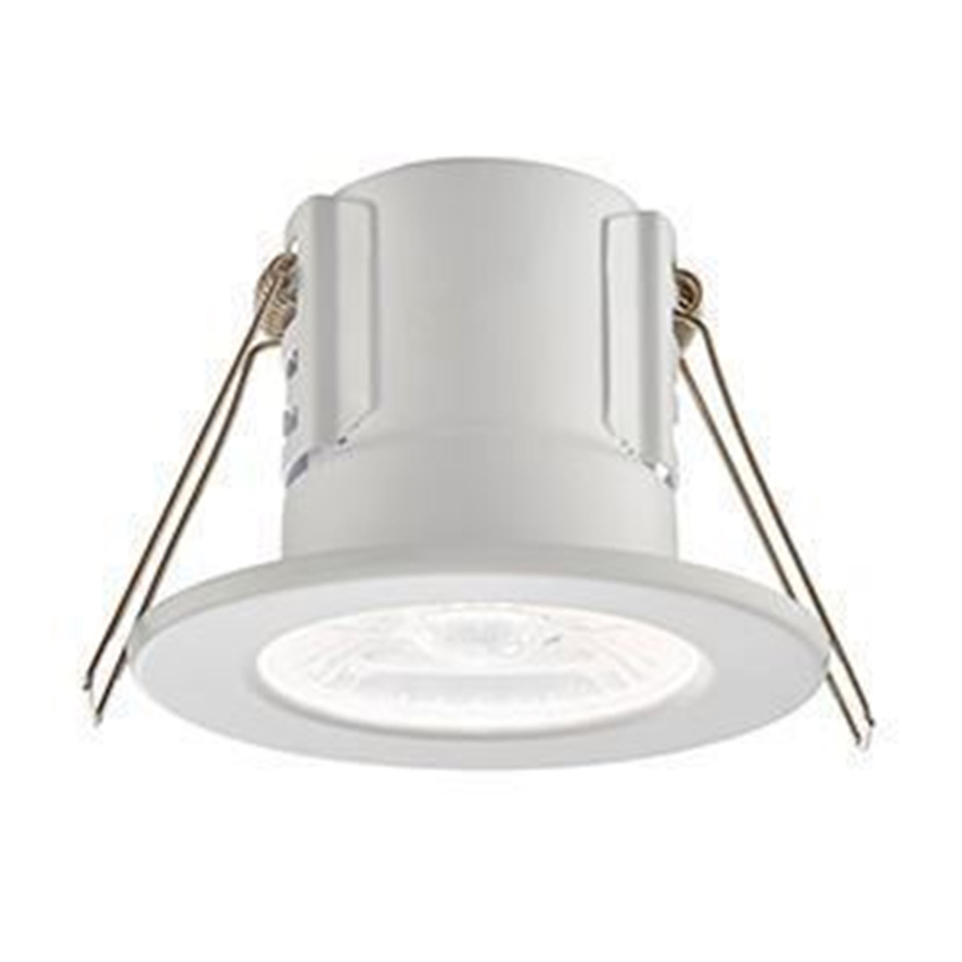 ShieldECO Saxby 4W LED Fire rated downlight Matt White, Cool White 73786
