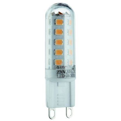 Searchlight PL1903WW LED 3W Non Dimmable G9 Lamp Warm White