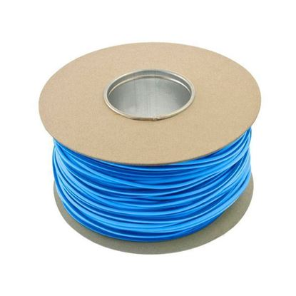 Unicrimp QES3BL Blue PVC 3mm Cable Sleeving 100m