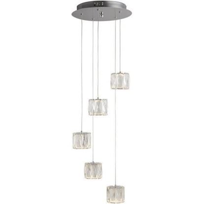 Searchlight 7765-5CC Octagon ceiling pendant