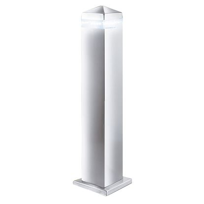 STAINLESS STEEL INDIA IP44 LED OUTDOOR POST LIGHT WITH CLEAR DIFFUSER  7202-450
