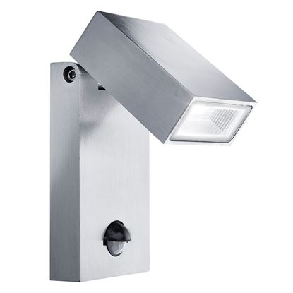DIE CAST ALUMINIUM IP44 LED OUTDOOR WALL LIGHT WITH MOTION SENSOR 7585