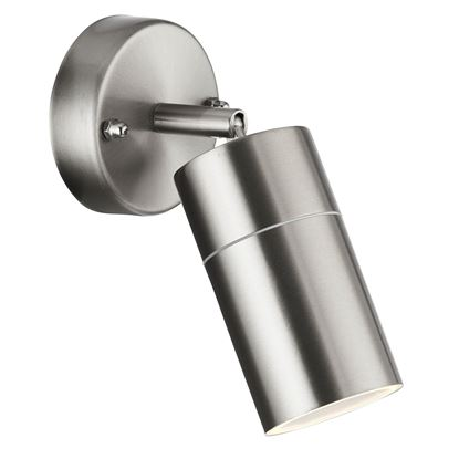 LED STAINLESS STEEL IP44 OUTDOOR DIRECTIONAL WALL LIGHT 6411SS-LED