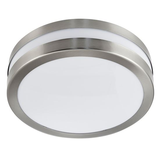 STAINLESS STEEL IP44 2 LIGHT FLUSH OUTDOOR WITH POLYCARBONATE DIFFUSER 2641-28