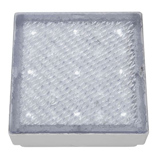 STAINLESS STEEL IP68 29 LED RECESSED SQUARE WALKOVER WITH WHITE LED LIGHT 9914WH