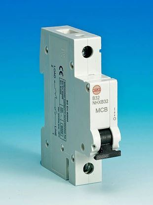 Wylex Single pole 32 Amp MCB - NHXL32