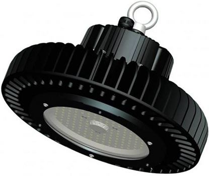 COMPACT LED HIGHBAY 200W DIMMABLE BLACK 6500K IP65 120 DEG