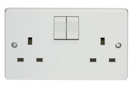 Picture for category Crabtree Capital White Plastic Switches & Sockets