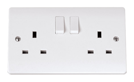 Picture for category Electrical Planet White Plastic Switches & Sockets