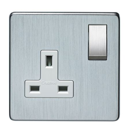 Picture for category Crabtree Platinum Sockets