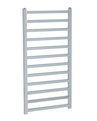 Luisa Square Chrome Towel Rail 1000mm x 500mm 850 BTU