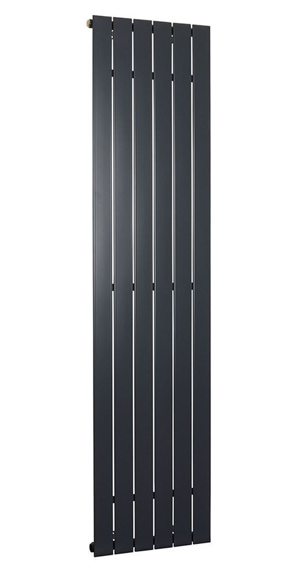 Lorenza Vertical Anthracite Single Radiator 1800mm x 445mm 2835 BTU