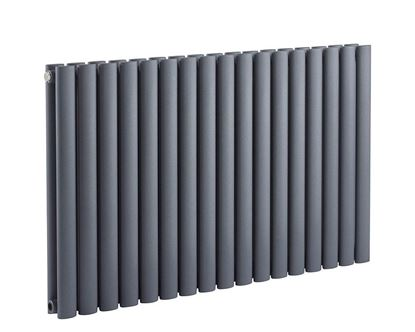 Sofia 600 Anthracite Double Radiator 600mm x 990mm 4101 BTU