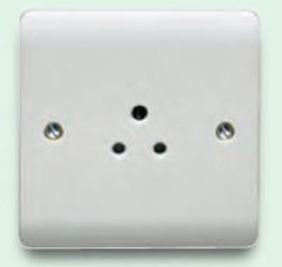 2A 1G UNSWITCHED ROUND PIN SOCKET CR1046