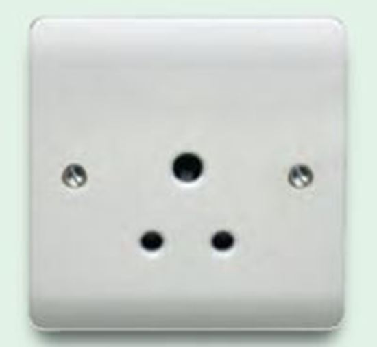 5A 1G UNSWITCHED ROUND PIN SOCKET CR1047