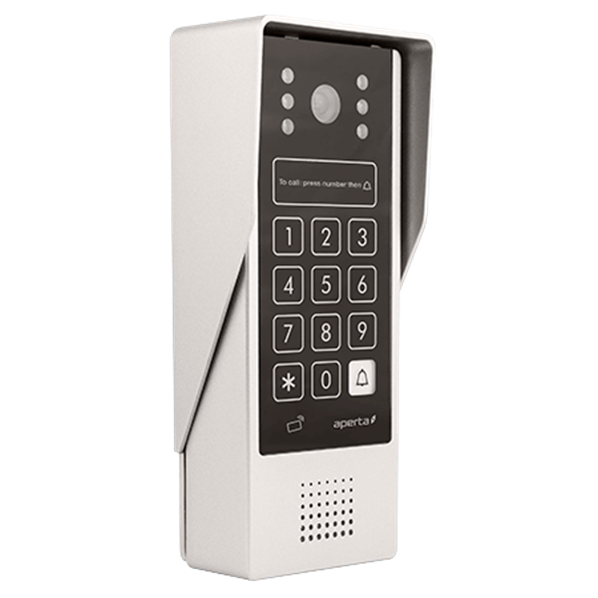 ESP Aperta APDSPXMW Mulitiway Video Door Entry Colour Station with Code Entry and Proximity