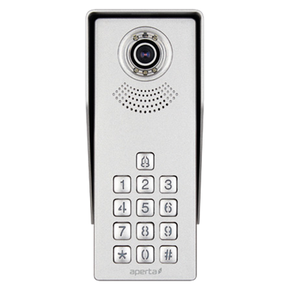 ESP 1 WAY DOOR VIDEO STATION WITH KEYPAD APDSSWKP