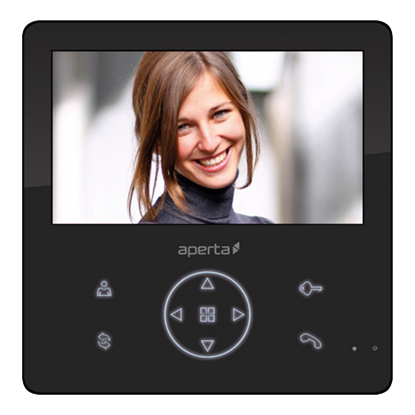 Colour Video Door Entry Monitor with Record Facility APMONBG