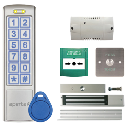 ESP EZ-TAG3PRO IP65 Keypad And Proximity Reader Door Entry Unit