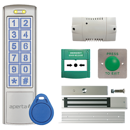 Proximity and Keypad Door Entry Kit EZTAG3PROM