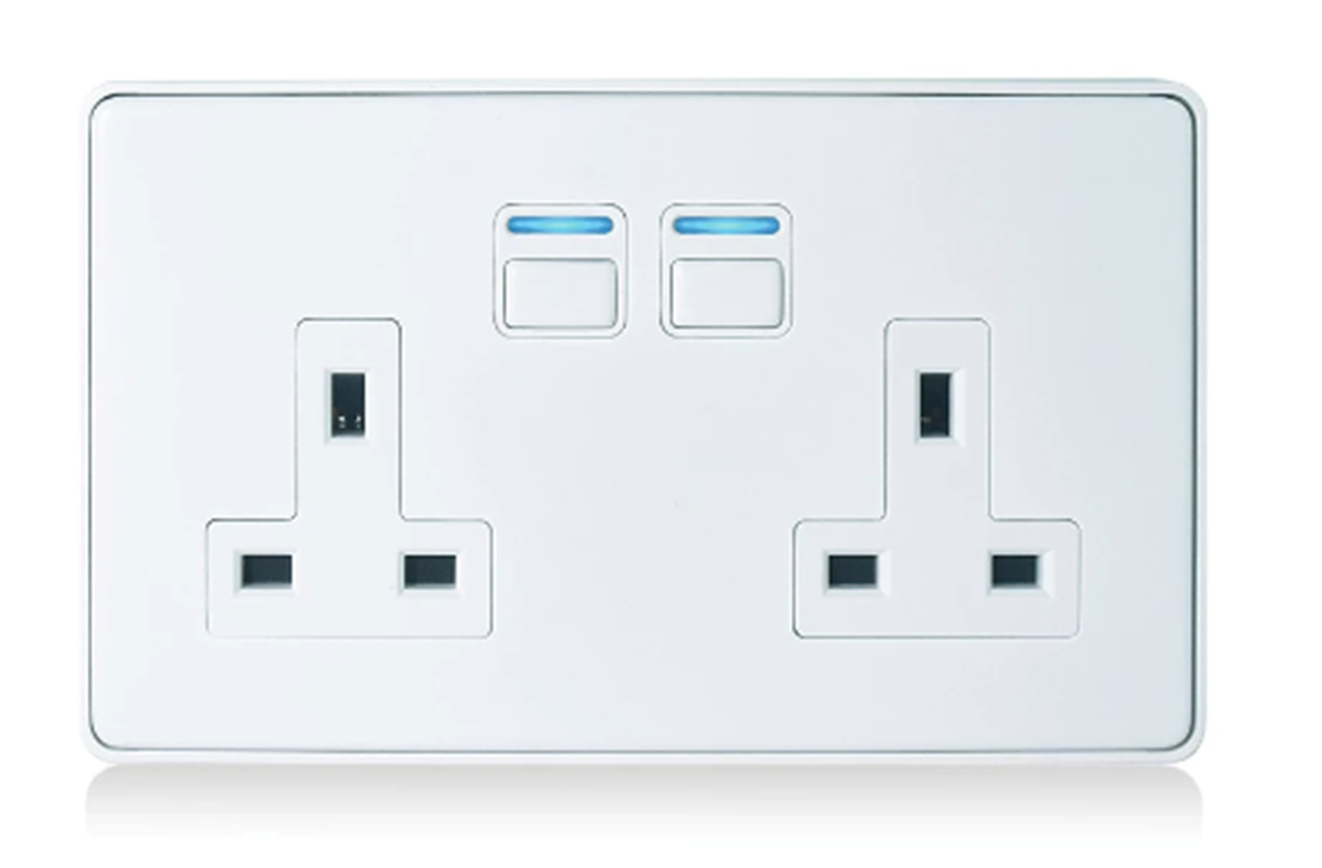 Smart Socket (2 gang) L42WH