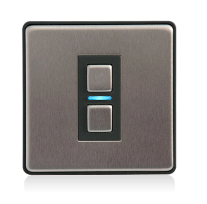 Lightwave Smart Dimmer (1 Gang) Stainless Steel