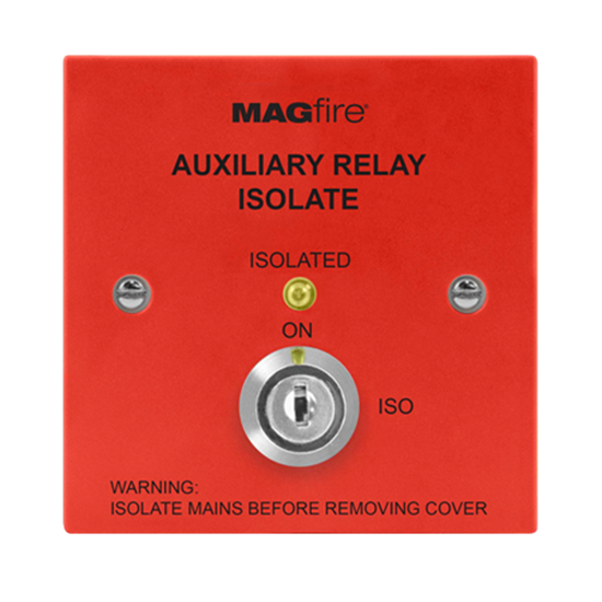 Auxiliary Isolation Switch (Red) MAGAUXISORP