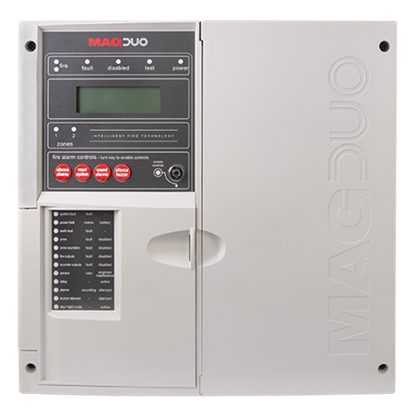 MAGDUO2  2 Zone Two Wire Fire Panel