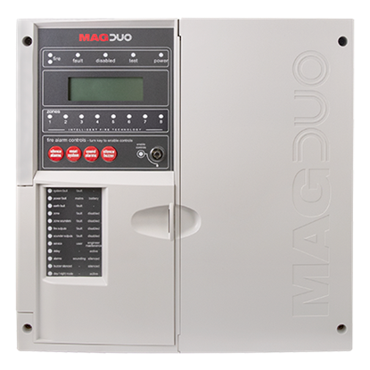 MAGDUO4  4 Zone Two Wire Fire Panel