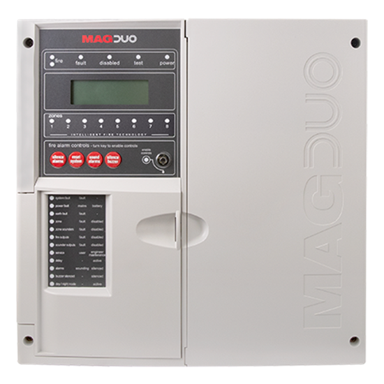 MAGDUO8 8 Zone Two Wire Fire Panel