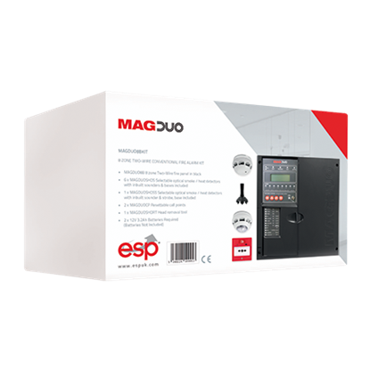 MAGDUO8BKIT 8 Zone Two Wire Conventional Fire Alarm Kit