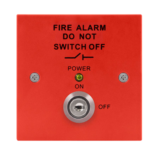MAGISORP Fire Isolation Switch (Red)