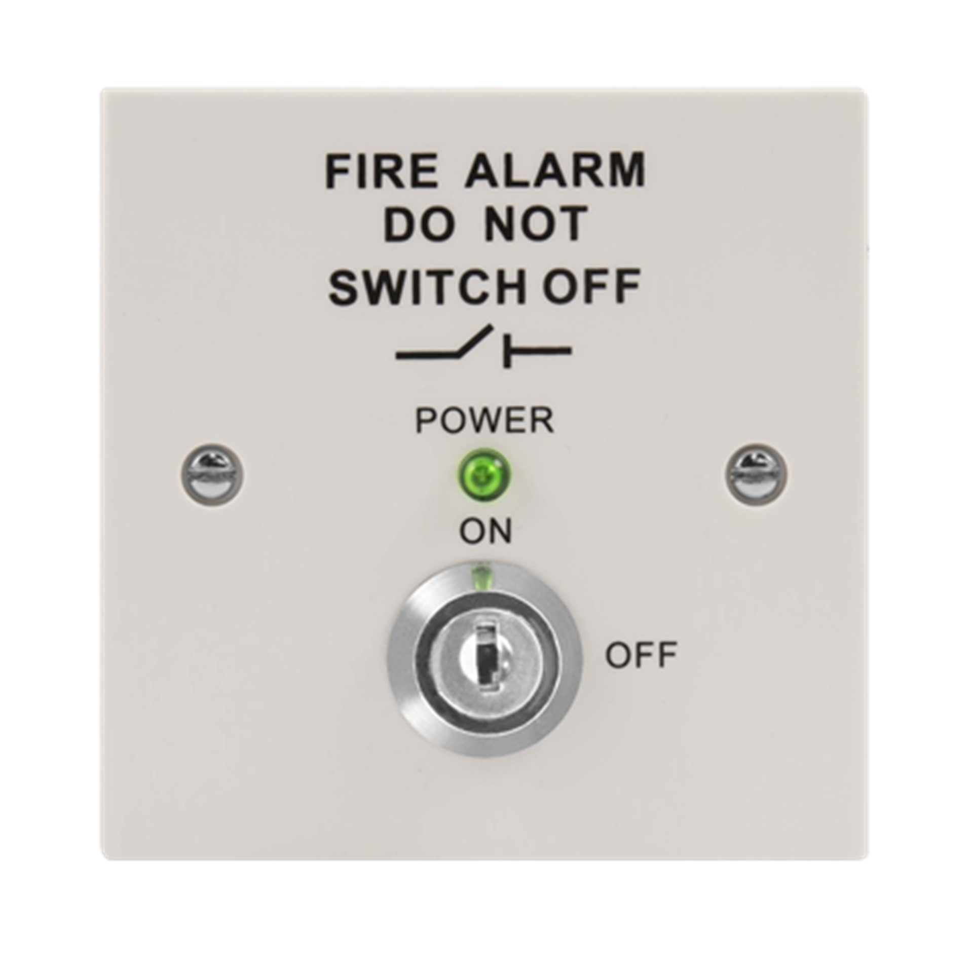 MAGISOWP Fire Isolation Switch (White)